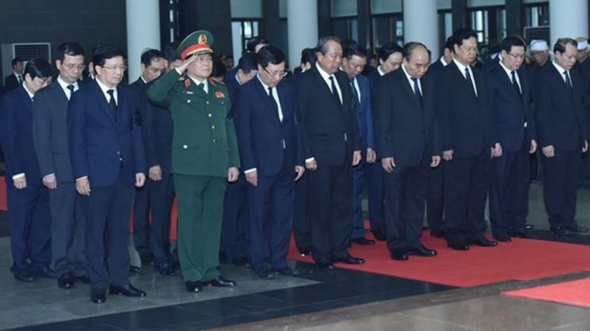 Memorial service of the State funeral for former President General Le Duc Anh ảnh 33