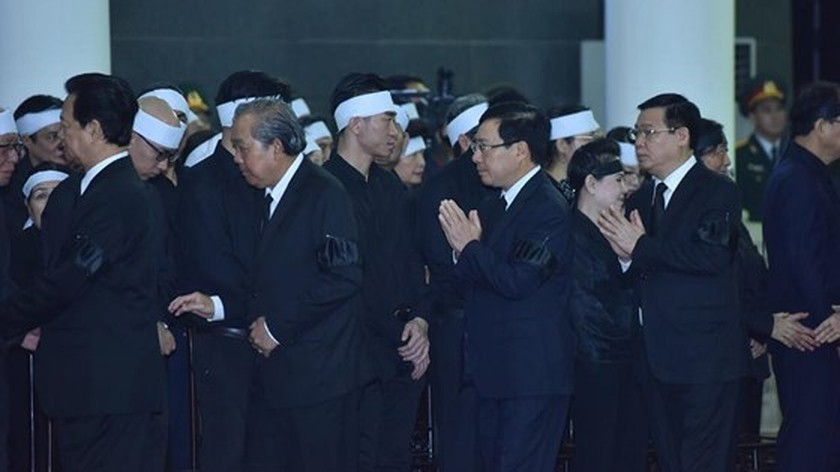 Memorial service of the State funeral for former President General Le Duc Anh ảnh 41