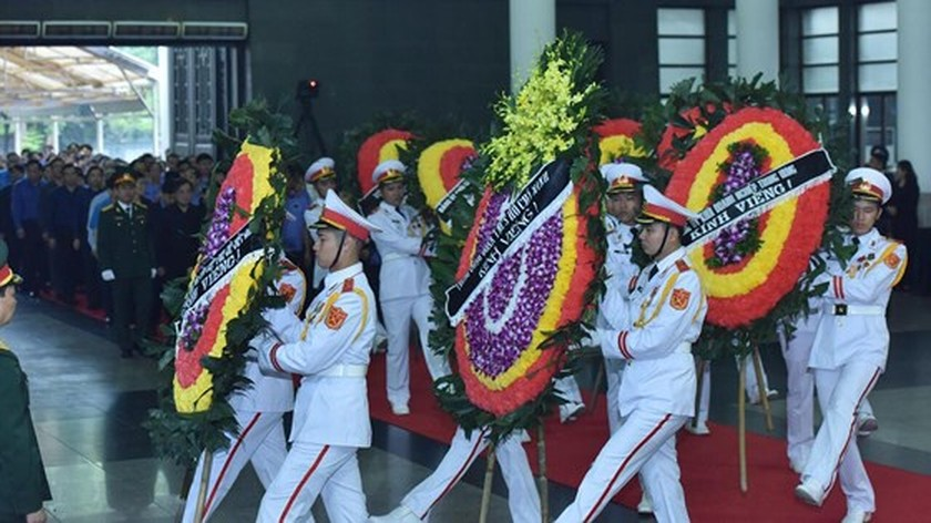 Memorial service of the State funeral for former President General Le Duc Anh ảnh 44