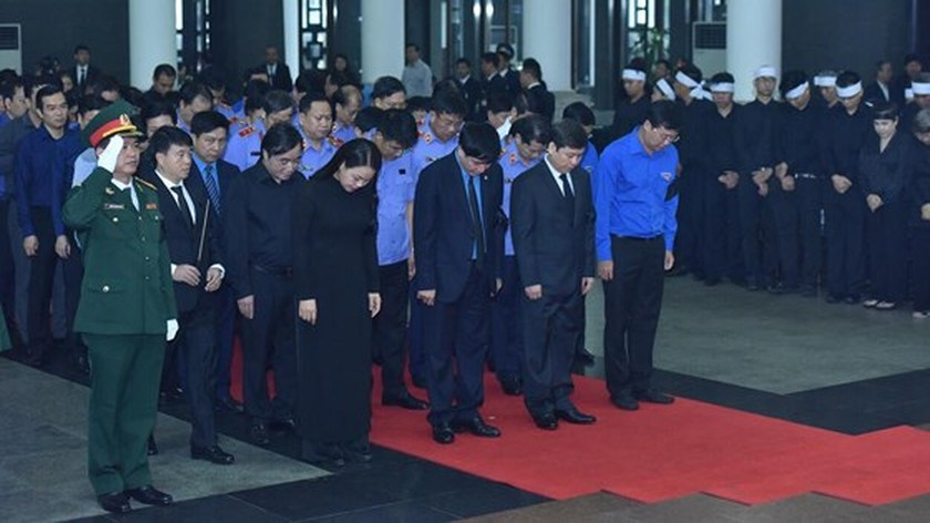 Memorial service of the State funeral for former President General Le Duc Anh ảnh 45