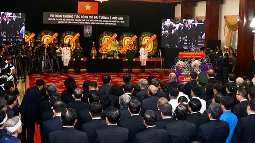 Memorial service of the State funeral for former President General Le Duc Anh ảnh 51