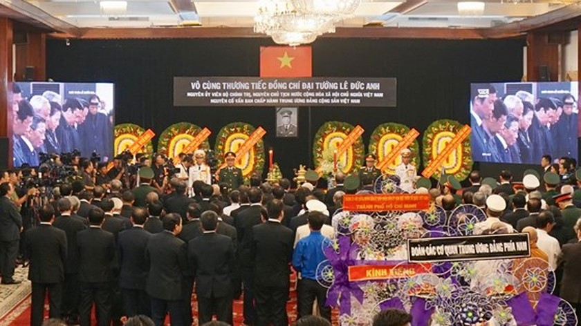 Memorial service of the State funeral for former President General Le Duc Anh ảnh 52