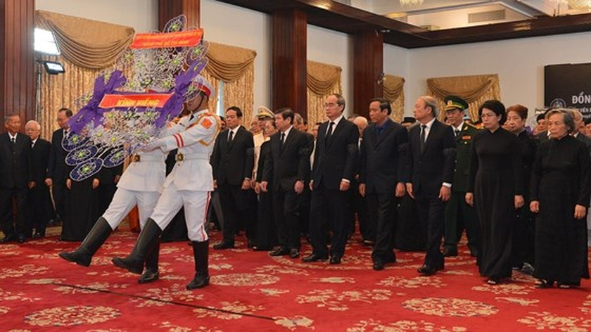 Memorial service of the State funeral for former President General Le Duc Anh ảnh 53