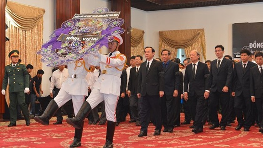 Memorial service of the State funeral for former President General Le Duc Anh ảnh 59