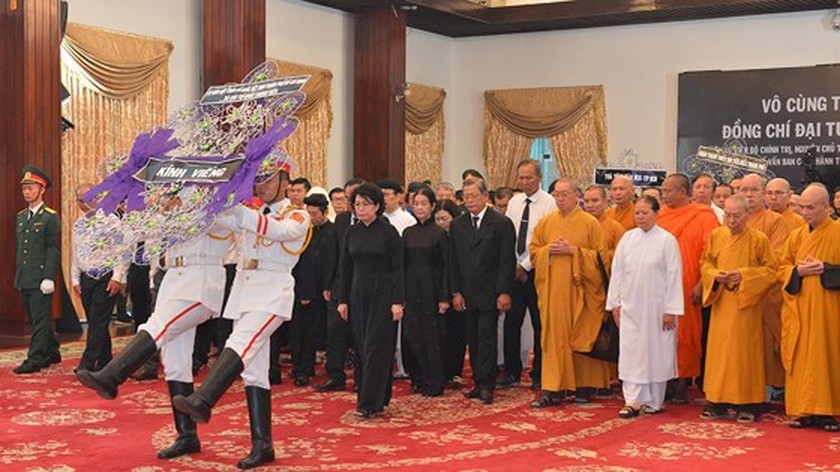 Memorial service of the State funeral for former President General Le Duc Anh ảnh 61