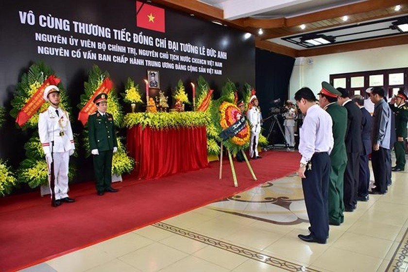 Memorial service of the State funeral for former President General Le Duc Anh ảnh 63