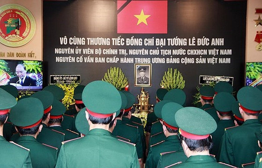 Memorial service of the State funeral for former President General Le Duc Anh ảnh 68
