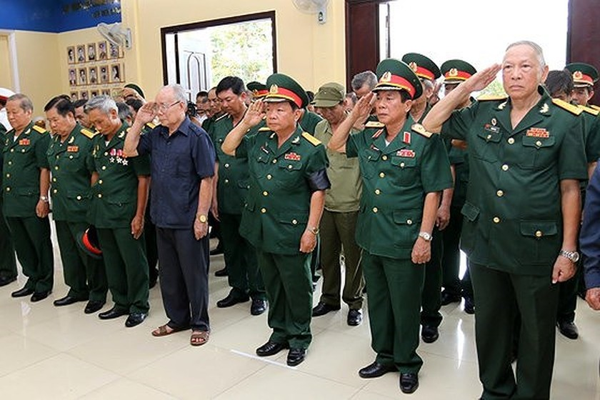Memorial service of the State funeral for former President General Le Duc Anh ảnh 69