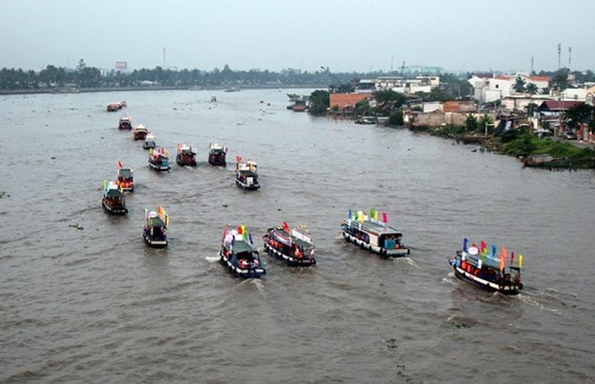 Cai Rang Floating Market Festival 2019 opens in Can Tho ảnh 1