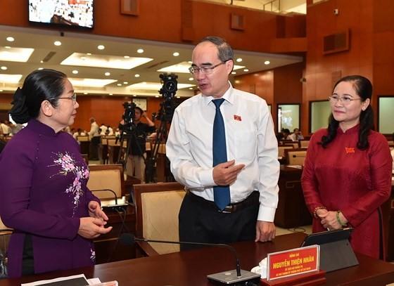 City leader underlines mission of building new industrial park for hi-tech firms ảnh 1