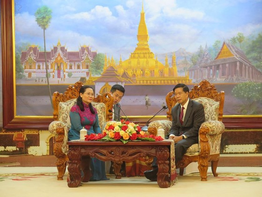 HCMC keens on boosting partnership with Vientiane ảnh 4