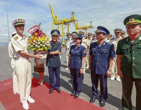 Japanese coastguard vessel makes 4th visit to Da Nang city ảnh 1