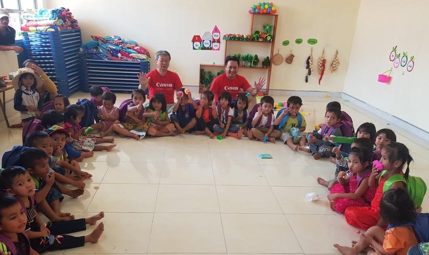 New charitable kindergarten inaugurated in Kon Tum province ảnh 2