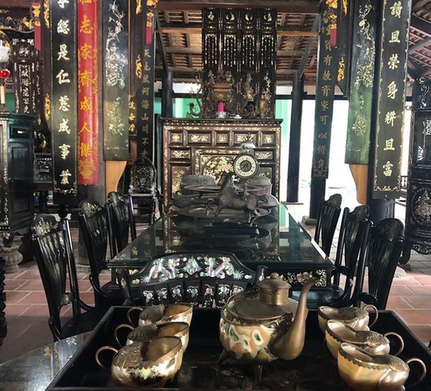 House of traditional Southern style antiques in Mekong Delta ảnh 11