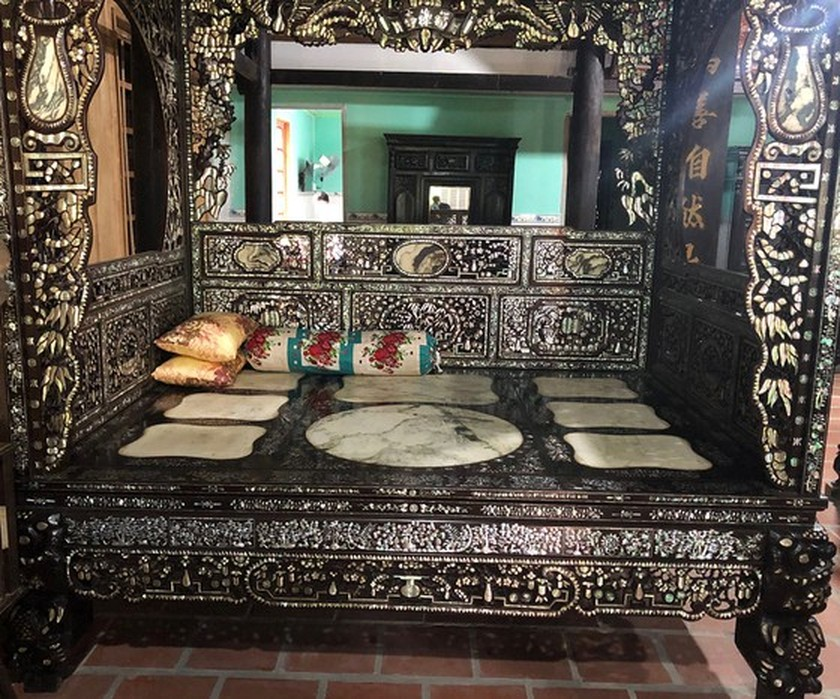 House of traditional Southern style antiques in Mekong Delta ảnh 12
