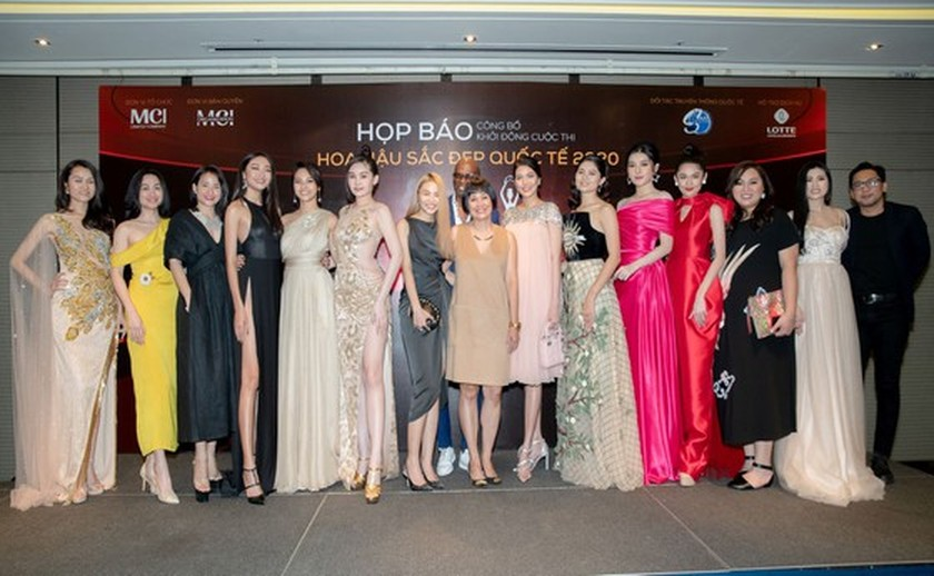 The first Miss Charm International beauty contest to be held in Vietnam ảnh 1