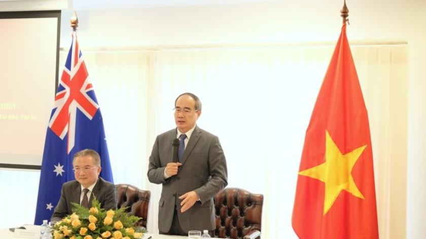 HCMC wishes to expand cooperation in vocational training with Australia ảnh 5