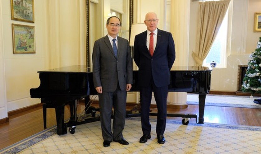 HCMC Party Committee leader visits NSW Government House ảnh 1