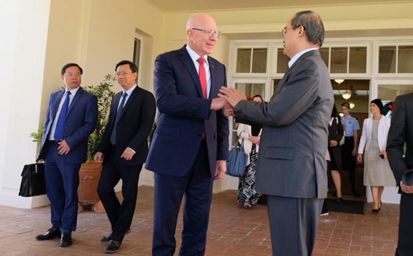 HCMC Party Committee leader visits NSW Government House ảnh 6