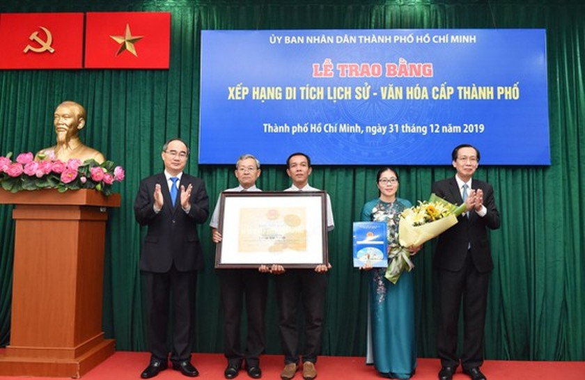 HCMC's ancient architectural works receive historic-cultural relic certificates ảnh 4