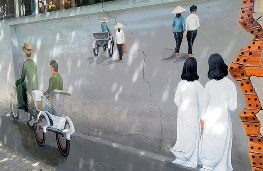 Can Tho City's mural painting street to charm visitors ảnh 6