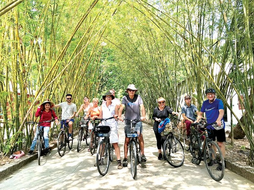 Foreigners enjoy Vietnam's traditional Tet holiday ảnh 7