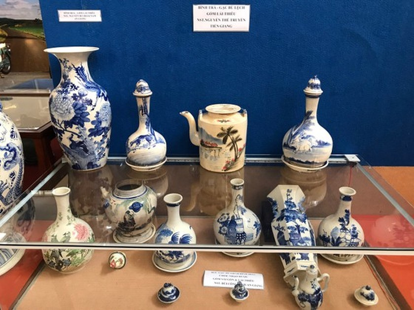 Antiques exhibition opens in An Giang ảnh 10