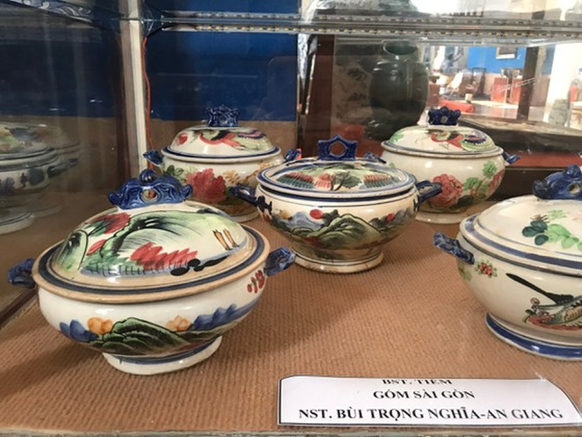 Antiques exhibition opens in An Giang ảnh 11