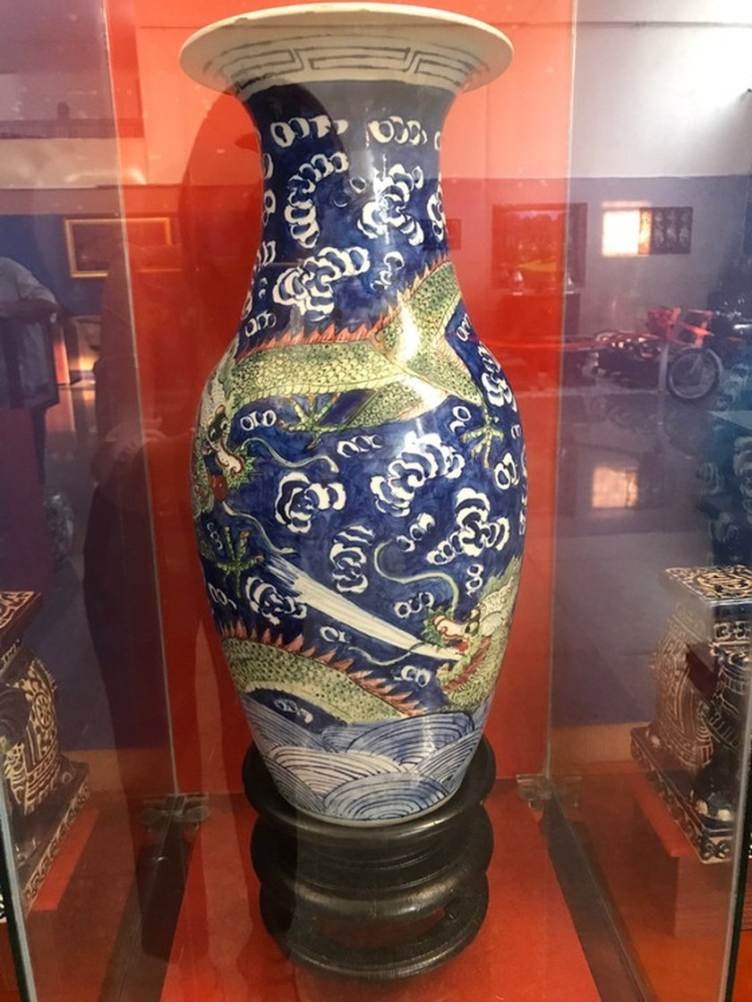 Antiques exhibition opens in An Giang ảnh 3