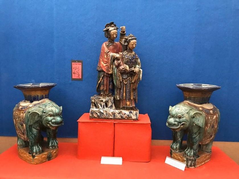 Antiques exhibition opens in An Giang ảnh 8