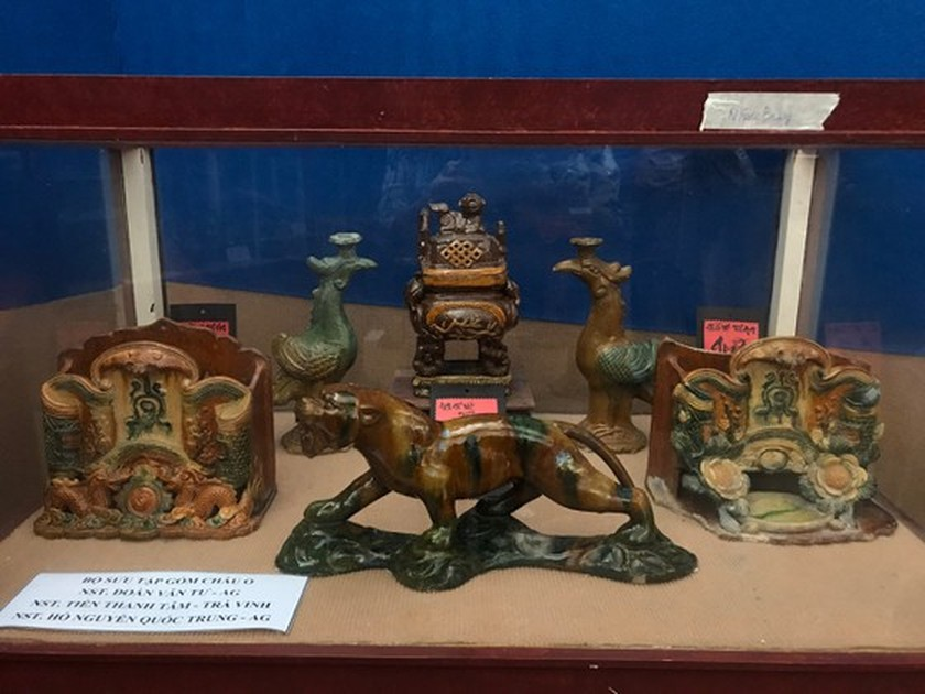 Antiques exhibition opens in An Giang ảnh 9