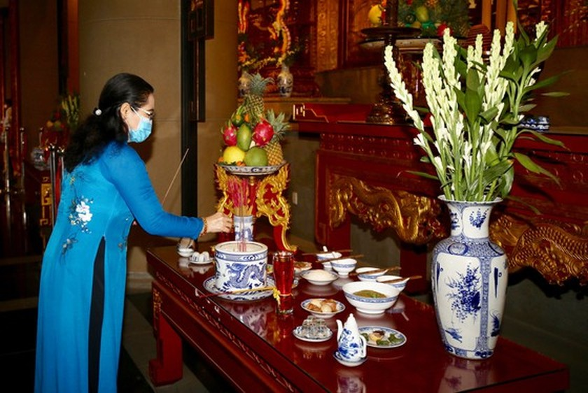HCMC commemorates death anniversary of Hung Kings ảnh 3