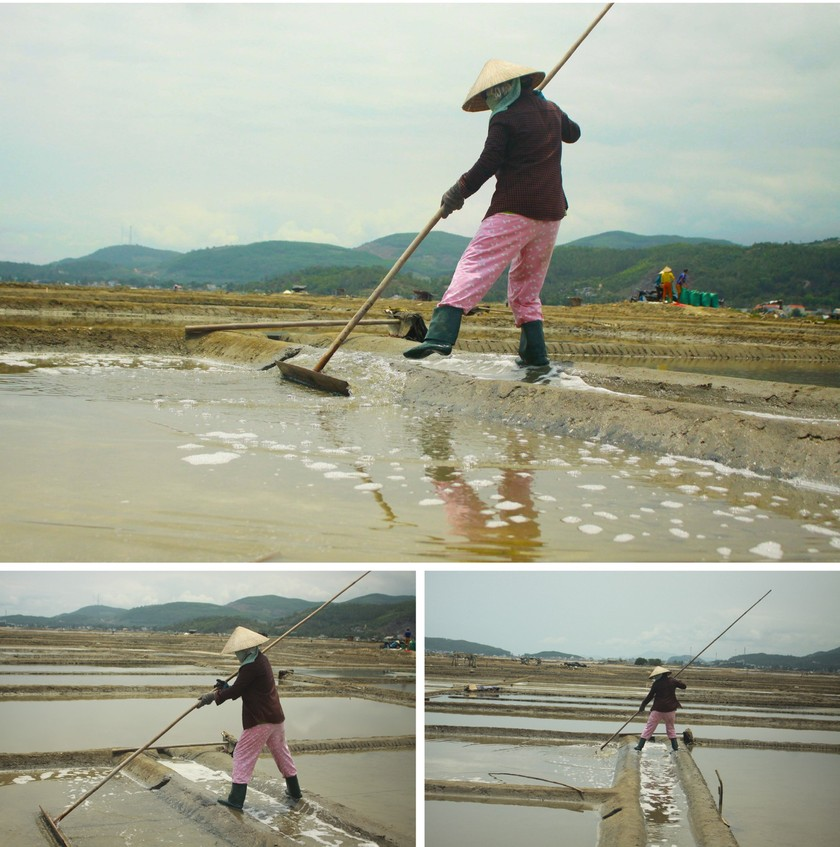 Sa Huynh salt farmers endure falling prices ảnh 2