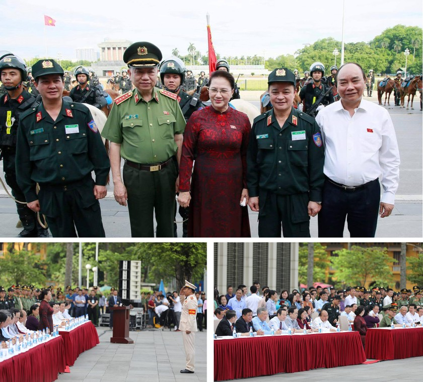 Cavalry Mobile Police Corps introduced for the first time to the public ảnh 5