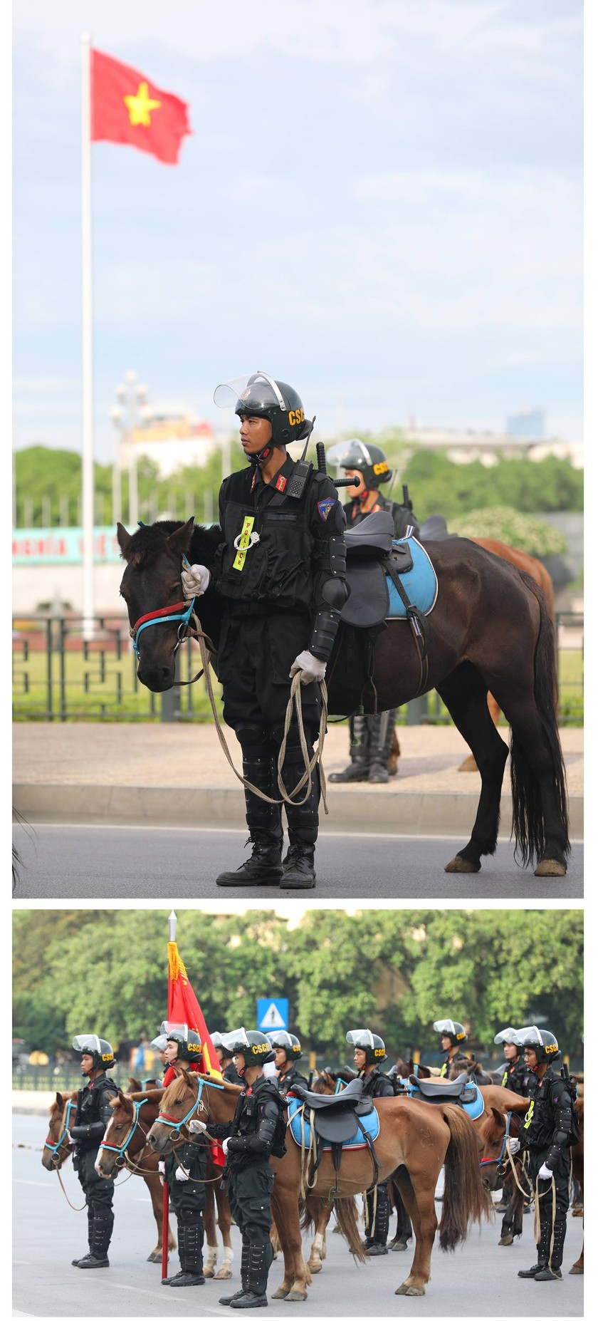 Cavalry Mobile Police Corps introduced for the first time to the public ảnh 6
