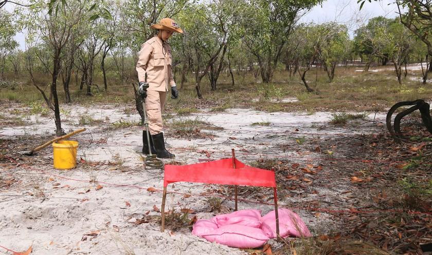 Vietnam's unique female team reclaims mine-contaminated land ảnh 8