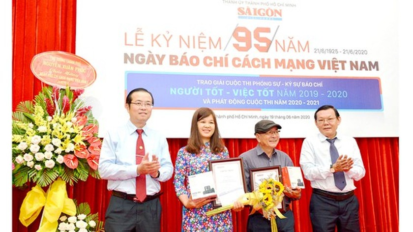 Winners of SGGP Newspaper's Reporting Writing Contest announced ảnh 2
