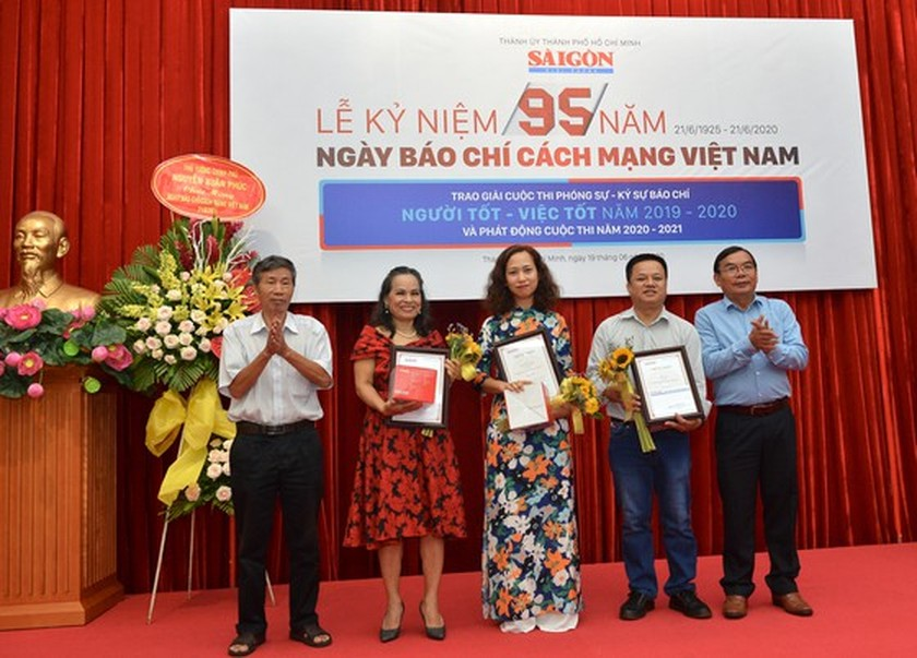 Winners of SGGP Newspaper's Reporting Writing Contest announced ảnh 3