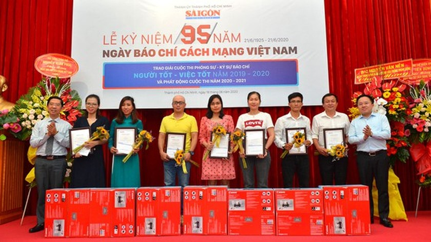 Winners of SGGP Newspaper's Reporting Writing Contest announced ảnh 4