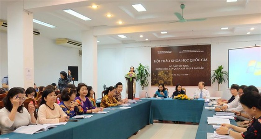 Ao Dai seeks recognition as a national intangible cultural heritage ảnh 1