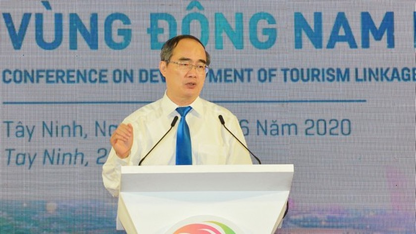 Southeast localities discuss measures to boost linkage in tourism development ảnh 6