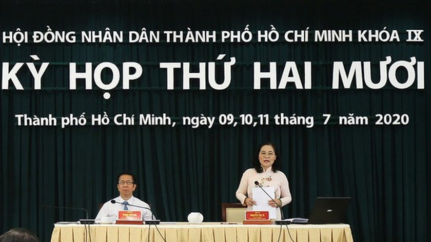 20th session of the 9th-tenure People's Council of HCMC concluded ảnh 2