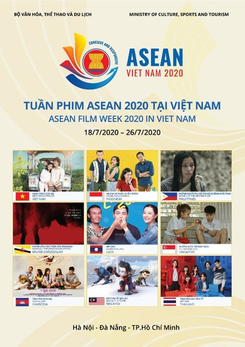ASEAN Film Week 2020 open in main cities ảnh 2