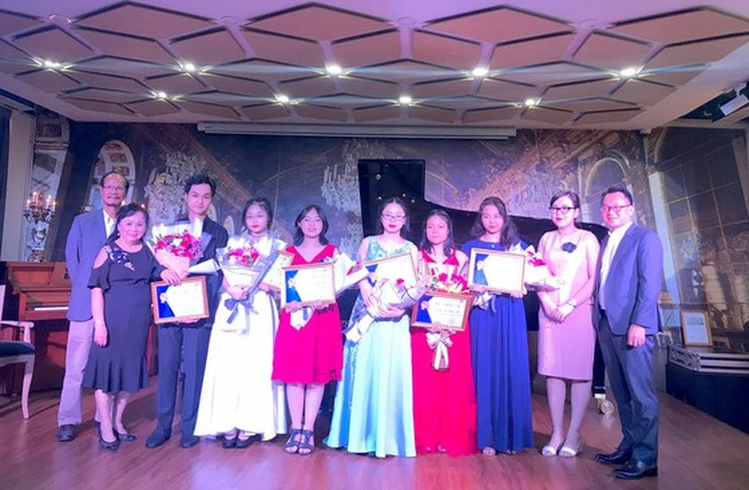 Concert promotes young piano talents ảnh 4