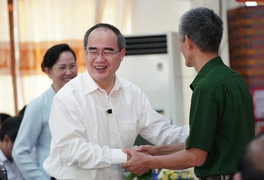HCMC's Party, government, and people show gratitude to war invalids  ảnh 4
