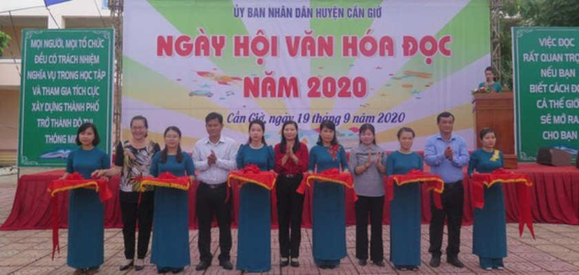 Can Gio District hosts Reading Culture Day ảnh 1