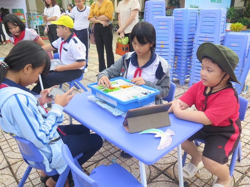 Can Gio District hosts Reading Culture Day ảnh 2