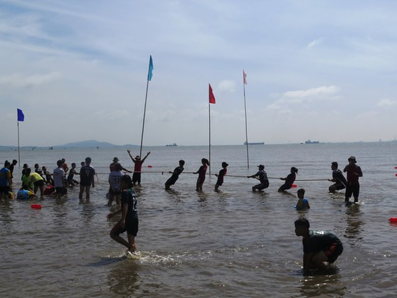 Visitors enjoy joyful time as Can Gio Nghinh Ong Festival returns ảnh 2