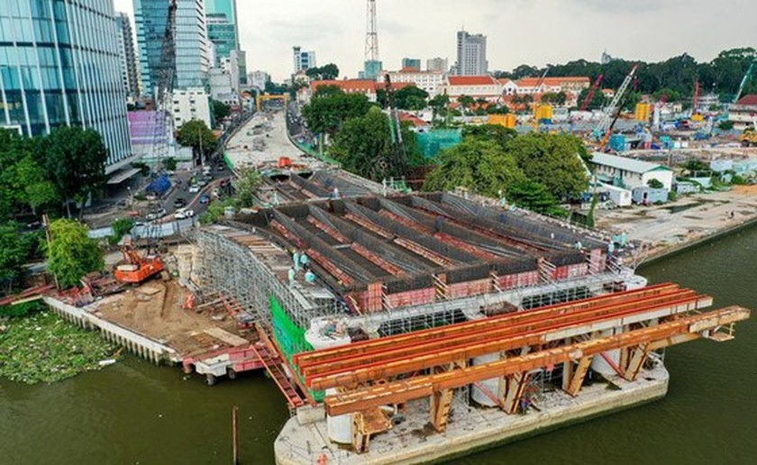 District 1 hands over land for construction of metro project, Thu Thiem 2 Bridge ảnh 2
