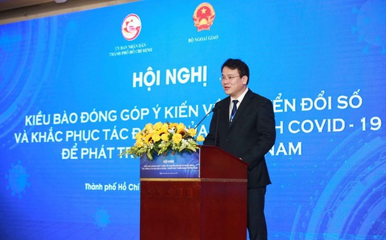 HCMC collects OVs' opinions on digital transformation, economic development ảnh 12